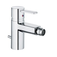 Baterie baie pentru bideu Kludi Zenta 385300575, cu ventil, monocomanda, finisaj cromat
