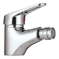 Baterie baie pentru bideu Kadda 103 10302 - 01, cu ventil, monocomanda, finisaj cromat
