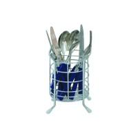 Suport bucatarie, pentru tacamuri, tip pahar, 4091, 11 x 13 x 19 cm