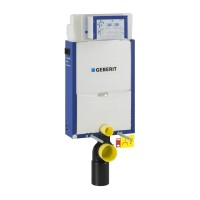 Rezervor apa, incastrat, Geberit Kombifix 110350005, 6 - 7. 5 L, 42 x 108 cm