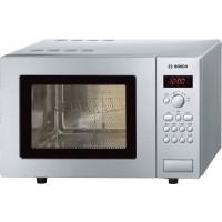 Cuptor cu microunde Bosch HMT75G451, 17 l, 800 W, 5 nivele de putere, grill, control electronic, gri