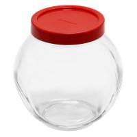 Borcan Bela 80000, 1.5 litri, capac inclus, sticla, transparent