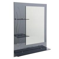 Oglinda baie E 172, 60 x 80 cm, 3 etajere