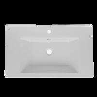 Lavoar Arthema Vela 0075D - A, alb, dreptunghiular, 75 cm