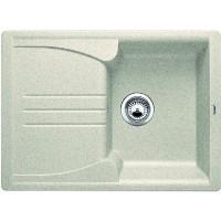 Chiuveta bucatarie compozit silgranit Blanco Enos 40S bej cuva stanga / dreapta 68 x 50 cm + baterie Daras silgranit