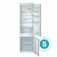Combina frigorifica Bosch KIV38X20, incorporabila, 277 l, clasa A+, inaltime 177 cm, argintiu