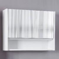 Dulap baie cu oglinda si polita, 1 usa, Arthema Deco 356 - A1, 72.5 x 55 x 17.5 cm
