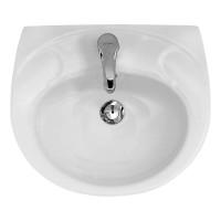 Lavoar Cersanit Roma K07-026, alb, rotunjit, 50 cm