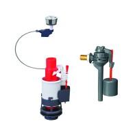 """Mecanism WC, alimentare laterala, 3/6 L, pentru rezervoare 2 """", Wirquin MWGT"""
