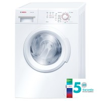 Masina de spalat rufe Bosch WAB20061BY, 5.5 kg, 1000 rpm, clasa A+, functie ActiveWater, adancime 55 cm, alb