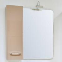 Dulap baie suspendat, 1 usa, cappuccino, stanga, Arthema Porto 406 - CP 2, 80 x 15 x 25 cm