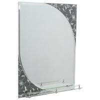 Oglinda baie E232, 60 x 80 cm, 1 etajera