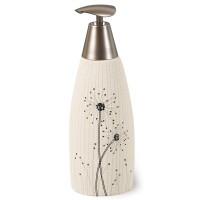 Dozator sapun lichid Vento AWD02190919, ceramica, crem, 380 ml