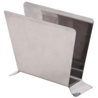 Suport bucatarie, pentru servetele, 994, inox, 10 x 7 x 2 cm