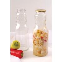 Sticla pentru sosuri si ketchup, transparenta, 1 litru