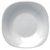 Farfurie adanca Parma, opal, alb, 23 cm
