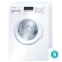 Masina de spalat rufe Bosch WAB20261BY/20262, 6 kg, 1000 rpm, clasa A+, adancime 55 cm, functie ActiveWater, alb