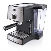 Espressor cafea Electrolux EEA111, cafea macinata, 15 bar, 1250 W, capacitate 1.25 l, gri + negru