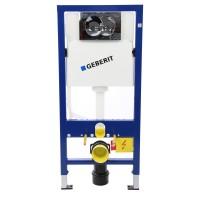Pachet rezervor apa, incastrat, Geberit Duofix Delta 458.133.21.1, 50 x 112 cm, clapeta de actionare si sistem de fixare incluse