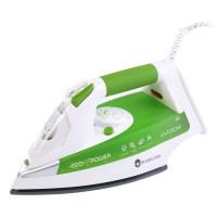 Fier de calcat Studio Casa Ariete Eco Power 6233, 2200 W, talpa inox, 0.28 l, tehnologie Eco Power, alb cu verde