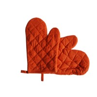 Manusa bucatarie 060370, set 2 bucati, bumbac, portocaliu, 25.4 x 19 cm