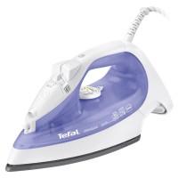 Fier de calcat Tefal Primagliss FV2545E0, 2000 W, talpa Ultragliss, 0.27 l, 90 g/min, sistem anti-calcar, alb cu violet