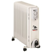 Radiator electric Albatros RA-13T, 3 trepte, 3000 W, 555 x 145 x 570 mm, 13 elementi, termostat reglabil