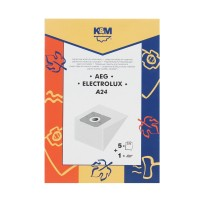 Saci aspirator AEG GR 28, hartie, pachet 5 bucati + filtru