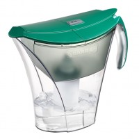 Cana de filtrare apa Smart, verde, 3.5 litri