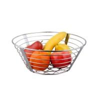 Cos de masa pentru fructe, KIC-0325D, din metal cromat, 11.5 x 30.5 cm