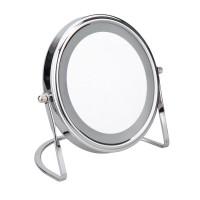 Oglinda cosmetica pentru baie, Kadda BIC - 0253E, diametrul 15 cm