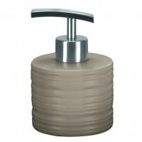Dozator sapun lichid Kleine Wolke Sahara 34137, ceramica, gri, 250 ml