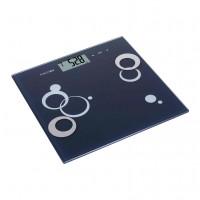 Cantar electronic pentru baie, Kadda EF981, sticla securizata, LCD, 180 kg