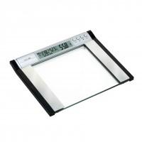 Cantar electronic pentru baie, Kadda EF921, sticla securizata, LCD, 200 kg