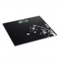 Cantar electronic pentru baie, Kadda EB9360, sticla securizata, LCD, 150 kg