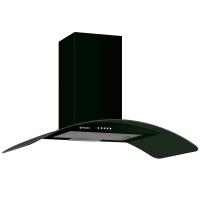 Hota decorativa Pyramis Elegant black, 246 mc/h, 1 motor, 138 W, latime 60 cm, neagra