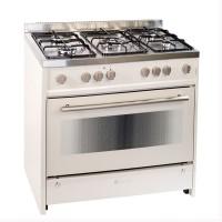 Aragaz pe gaz Studio Casa Monza 9060, 5 arzatoare, aprindere electrica, grill, rotisor, latime 90 cm, bej