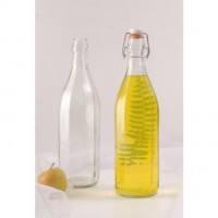 Sticla cu capac, transparenta, 1 litru