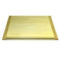 Planseta mijlocie din lemn, pentru aluat, 6070, 70 x 50 cm