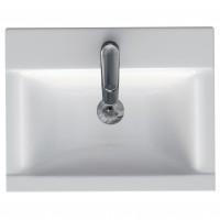 Lavoar Cersanit Ontario New K669-001, alb, dreptunghiular, 50 cm