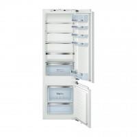 Combina frigorifica Bosch KIS87AF30, incorporabila, 272 l, Low Frost, clasa A++, inaltime 177 cm, alb