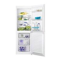 Combina frigorifica Zanussi ZRB33103WA, 303 l, clasa A++, inaltime 174.5 cm, alb