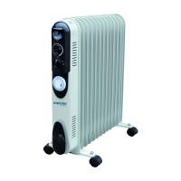 Radiator electric Meister Hausgerate HRH-13, 3 trepte, 2500 W, 650 x 135 x 560 mm, 13 elementi, termostat reglabil