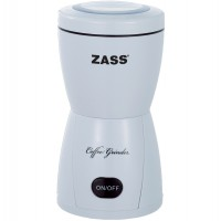 Rasnita de cafea Zass ZCG 05, 150 W, 80 g, functie Pulse, alb