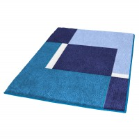 Covoras baie Dakota, albastru, 60 x 90 cm