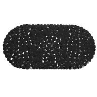 Covoras baie cu ventuze BPO-0615G, negru, 35 x 70 cm