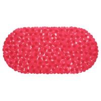 Covoras baie cu ventuze BPO-0615E, rosu, 35 x 70 cm