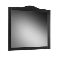 Oglinda baie Martplast Bari 105, cu rama, negru, 108 x 102 cm