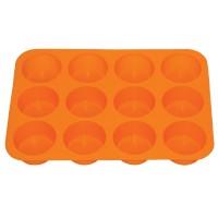 Forma 12 prajituri, MYS 103, silicon, diverse culori, 29 x 20.5 x 3 cm