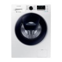 Masina de spalat rufe Samsung WW80K5410UW/LE, 8 kg, 1400 rpm, clasa A+++, adancime 55 cm, functie Addwash cu EcoBubble, alb
